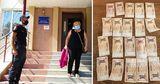 В Каушанах женщине вернули благодаря карабинерам потерянные ею деньги