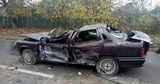 В Рыбнице легковой автомобиль врезался в цементовоз и перевернулся