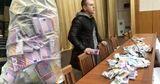 Григорчук принес на Общее собрание судей мешок с деньгами