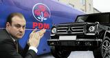 Демократа Никифорчука заметили за рулем авто стоимостью более €100 000