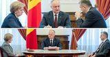 На встречах между высшим руководством увеличили социальную дистанцию