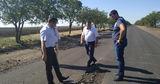 Ремонт дороги Чадыр-Лунга – Твардица: просел грунт и появились трещины