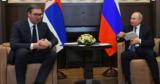 Президент Сербии заговорил с Путиным по-русски