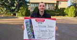 Лотерея: Максим Бабий из Глодян выиграл в лотерею 2 500 000 леев Ⓟ
