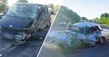 Цепное ДТП в Кожушне: машины разбились всмятку, водитель погиб