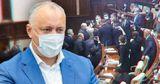 Додон о драке депутатов: Дай я волю, Боля смел бы шестерых одним ударом
