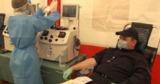 Пограничные полицейские сдали плазму для лечения коронавируса