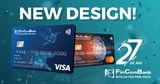 В День своего 27-летия, FinComBank объявил о запуске новых карт ®