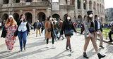 В Италии число случаев COVID-19 превысило 2 тыс. впервые с весны