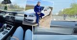 В Кишиневе появился очередной лихач-тиктокер на арендованной BMW