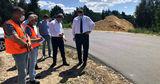 В 10 селах Унген и Ниспорен строится современная дорожная инфраструктура