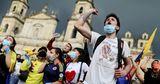 Массовые протесты: в Колумбии люди недовольны налоговой реформой