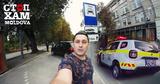 """Активисты """"СтопХам-Молдова"""" провели рейд в столице на парковке для такси"""