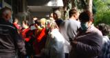У бельцкой поликлиники образовались огромные очереди