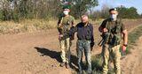 На Украине нашли молдавского нелегала по следам обуви