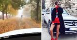 Девушка похвасталась в инстаграме, как объехать пробку в Кишиневе