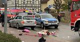 Немецкая полиция назвала наезд на толпу в Фолькмарзене намеренным
