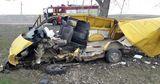 Недалеко от Ивановки произошла авария: перевернулся автомобиль
