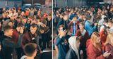 Десятки молодых людей развлекались на автомойке в День города