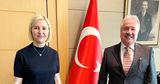 Башкан Гагаузии и посол Турции обсудили Дипломатическом форум в Анталии