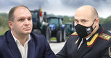 Чебан обратился к главе МВД из-за протеста фермеров в Кишиневе