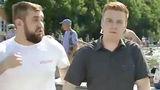 Ударивший корреспондента НТВ молодой человек пойдет около суд