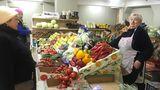Продавцы с Алешинского рынка возобновили работу на новом месте
