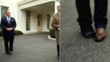 В Сети обсудили фото пресс-секретаря Трампа в необычной обуви