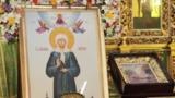 В Кафедральный собор доставили икону Блаженной Матроны Московской