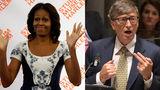 Билл Гейтс и Мишель Обама возглавили рейтинг почитаемых деятелей