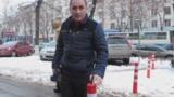 """Победа """"СтопХама"""": тротуар у Регистрационной палаты оградили"""