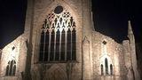 В Англии девушка сняла призрака в руинах аббатства, где погибли монахи