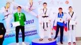 Serghei Uscov a cucerit bronzul la Europenele de Taekwondo