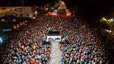 В соцсетях назвали Оргеев новогодней столицей Молдовы