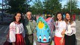 Молдаванин представил тюльпан в национальном стиле на фестивале в Канаде