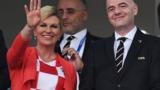 Президент Хорватии обратилась к россиянам перед финалом ЧМ-2018