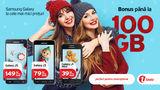 Bonus până la 100 GB de Internet Mobil, cu abonamente Unite ®