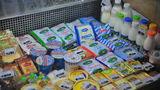 ANSA изъяло из продажи почти 3 тонны молочных продуктов
