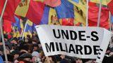Протест в центре Кишинева: В РМ дети рождаются уже должниками