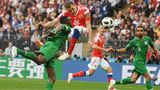 Матч открытия чемпионата мира стал самым рейтинговым событием года