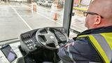 В Великобритании проходит испытания первый беспилотный автобус