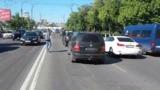 Двое водителей скрылись с места ДТП после того, как сбили двух человек