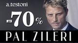 Pal Zileri, a.testoni: бренды класса люкс со скидкой до - 70% ®