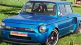 Cât de bine arată un BMW încrucișat cu un Zaporojeț