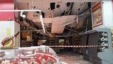 В магазине Velmart обрушился потолок