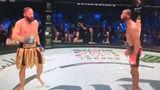 Боец MMA уговорил соперника сдаться