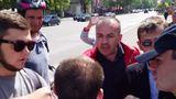 В центре Кишинева активисты DA устроили потасовку с журналистами