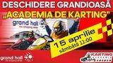 Grand Hall: Deschiderea a primei Academii de Karting în Moldova ®