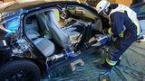 В Германии публично разрезали Porsche Panamera