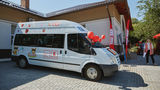 Kaufland подарила детям из Общинного дома Кишинева микроавтобус ®